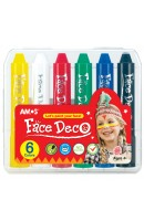 AM FD5PC6: Amos Face Deco 6 Colours